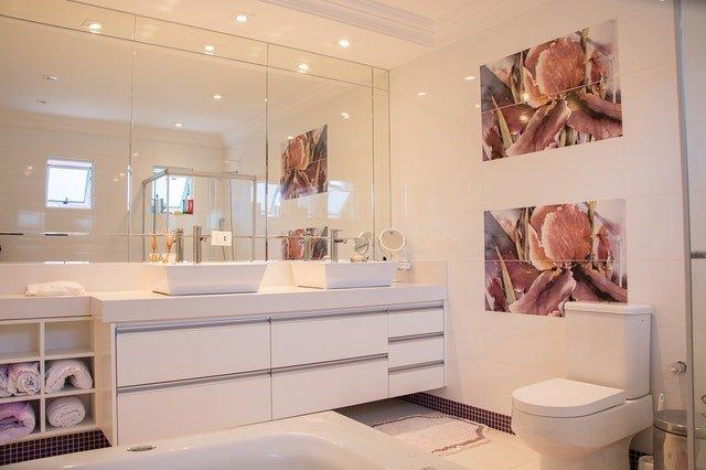 Bathroom remodeling service background