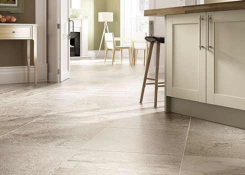 Ceramic and procelain tile flooring