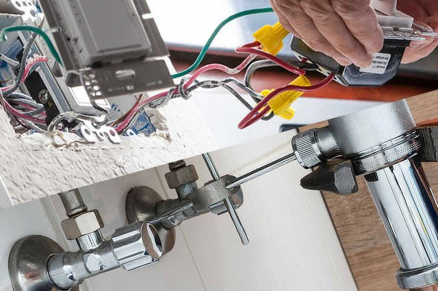 Home electrical repair and plumbing - Hercules Construction LLC - Rockford