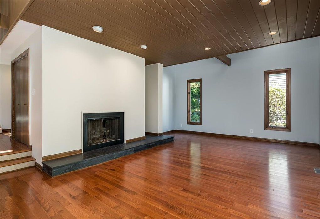 Wood floor installation by Hercules Construction LLC