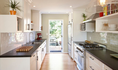 Gallery Style Kitchen Remodel