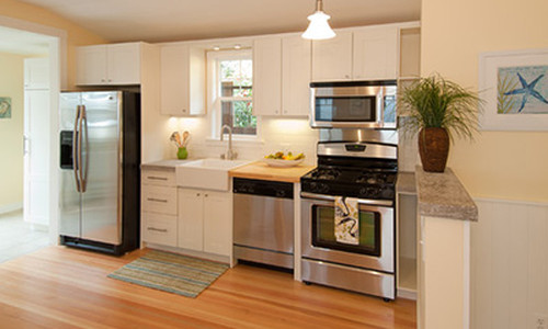 One-wall Kitchen Remodel