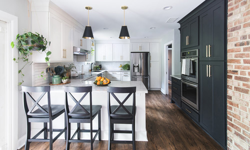 Peninsula Kitchen Remodel